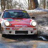 Rally Sweden's New Historic Contest