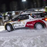 Citroen Sport set the early pace in Rally Sweeden